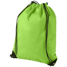 Evergreen Premium - Non Woven - Rucksack - apfelgrün