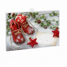 Classic Schoko-Adventskalender BASIC - Weihnachtsgruesse