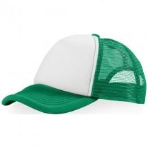 Trucker Kappe mit 5 Segmenten - grün