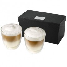 Boda Kaffee-Set, 2-teilig - transparent