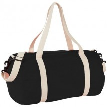 The Cotton Barrel Reisetasche - schwarz