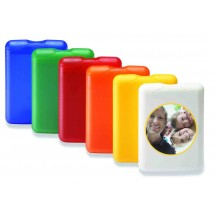 VitaCard 'Pflaster-Set' - blau transparent gefrostet