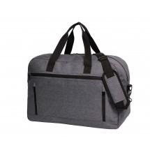 Reisetasche FASHION - blau/grau/meliert