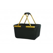 Shopper BlackBasket - gold