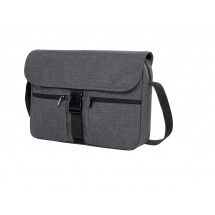 Notebook-Tasche FASHION - blau/grau/meliert
