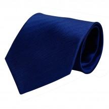 Krawatte, Reine Seide, Fischgrat, jacquardgewebt - dunkelblau