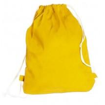 """Rucksack / Beutel """"Boston"""" aus Baumwolle - gelb"""