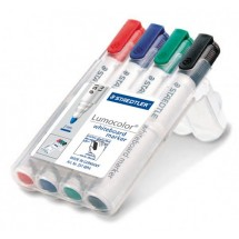 STAEDTLER Box mit 4 Lumocolor whiteboard marker