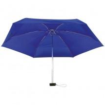 Mini-Regenschirm in einem EVA Etui - blau