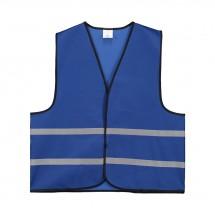 Promo Sicherheitsweste Polyester XL - kobalt