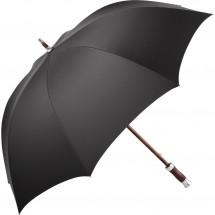 Midsize-Stockschirm FARE®-Exklusiv 60-Edition - dunkelgrau-schwarz