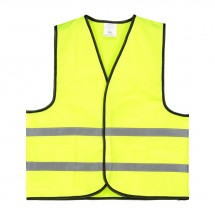 Kindersicherheitsweste Polyester - gelb