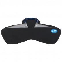 Silikontasche für Smartphone mit Notfallbrille - schwarz