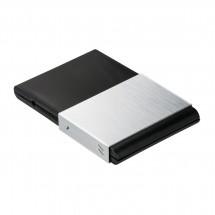 Visitenkartenbox REFLECTS-SARZEDO SILVER BLACK