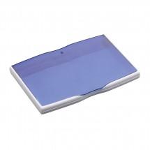 Visitenkartenbox REFLECTS-MELAKA WHITE BLUE