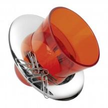 Stifthalter mit Büroklammernhalter REFLECTS-MALATYA RED
