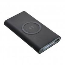 Wireless charging powerbank REFLECTS-KIEV BLACK 8000 mAh