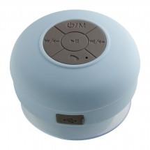 Bluetooth® Duschlautsprecher mit Radio REFLECTS-AVIGNON LIGHT BLUE