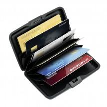 Kartenetui mit RFID Ausleseschutz REFLECTS-KENITRA BLACK