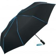 AOC-Oversize-Taschenschirm FARE®-Seam - schwarz-blau