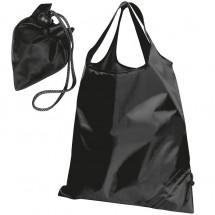 Faltbare Einkaufstasche - schwarz