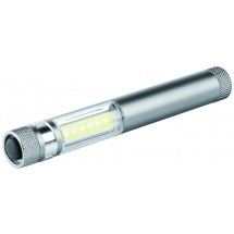 "Metmaxx®LED Megabeam ""WorklightMicroCOB"" silber - titan"