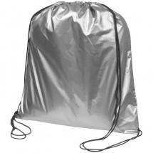 Gymbag in metallic Farben - silber