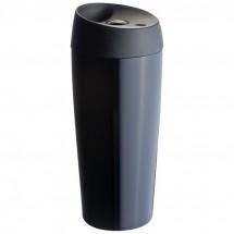 Trinkbecher aus Edelstahl, doppelwandig - schwarz