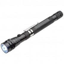 Taschenlampe mit Teleskopfunktion - schwarz