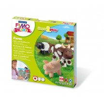 "STAEDTLER FIMO kids Modellierset ""form&play"", Farmtiere"
