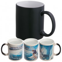 Tasse colour changing - schwarz