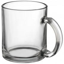 Kaffeetasse aus Glas - transparent