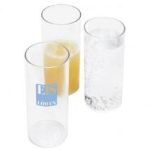 Kunststoff-Longdrinkglas - glasklar
