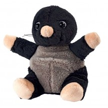 Plüsch Maulwurf Leve - schwarz