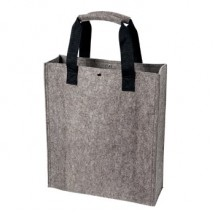 Polyesterfilz Shopper - anthrazit