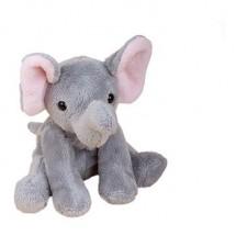 Zootier Elefant Linus - grau
