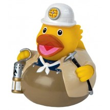Quietsche-Ente Bergmann - gelb