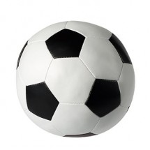 Soft-Fußball L - weiß/schwarz