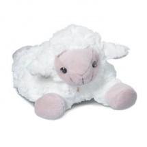 Plüsch Schaf für Wärmekissen - weiß