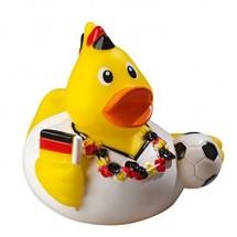 Quietsche-Ente Fußballfan - gelb