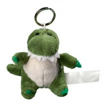 Plüsch Schlüsselanhänger Krokodil - grün