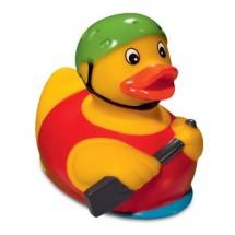 Quietsche-Ente Ruderboot - gelb