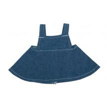 Jeans-Rock für Plüschtiere Gr. M - dunkelblau