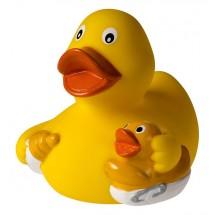 Quietsche-Ente Nuckelflasche - gelb