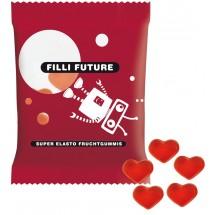 Haribo Mini-Herzen, rot 6,5 g