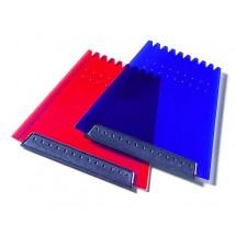 Trapez-Eiskratzer-blau