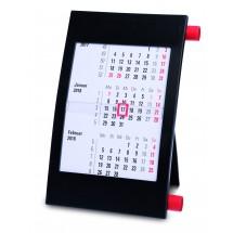 """Tischkalender """"Vision"""" für 2 Jahre, deutsch - schwarz"""