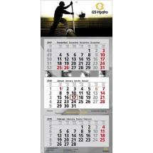 """Wandkalender """"Premium 3""""-schwarz"""