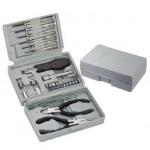 25-teiliger Werkzeugkoffer - grau