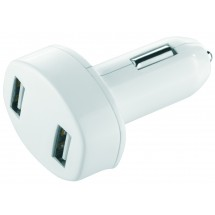 "Metmaxx® Car Charger ""Charge&DrivePadPower"" - weiss"